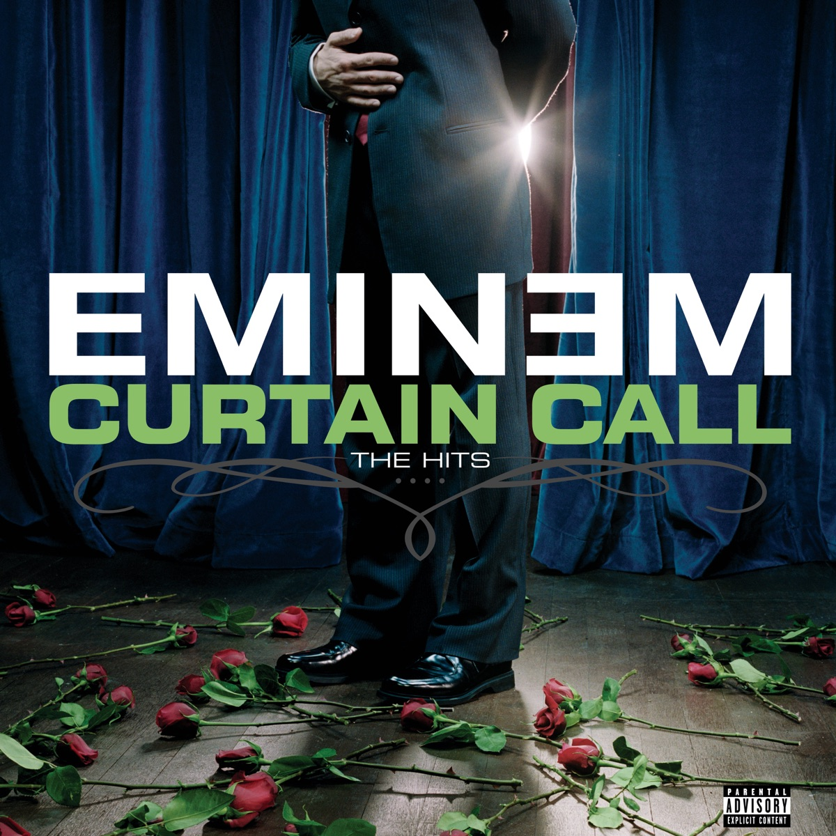 Curtain Call - The Hits Deluxe Version Eminem CD cover