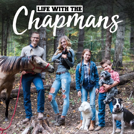 Cover image of LIFE WITH THE CHAPMANS