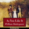 William Shakespeare - As You Like It  artwork