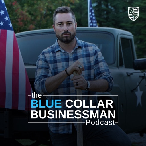 Cover image of THE BLUE COLLAR BUSINESSMAN
