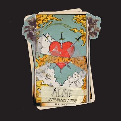 Alone (feat. Stefflon Don) [Calvin Harris Remix] - Single MP3 Download