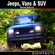 Jeeps, Vans and SUV Sound Effects - Digiffects Sound Effects Library