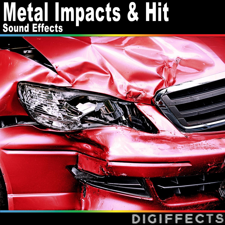Bouncing Sheet Metal Impact Version 2