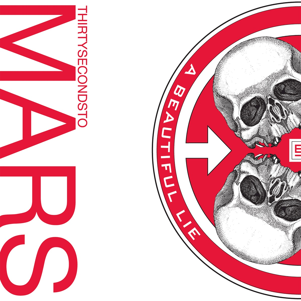 A Beautiful Lie Thirty Seconds to Mars CD cover