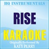Rise (Originally Performed by Katy Perry) [Karaoke Version] - Single - HQ INSTRUMENTALS