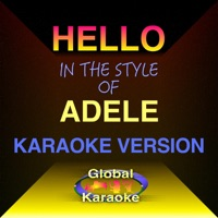 Hello (In the Style of Adele) [Karaoke Backing Track] - Single