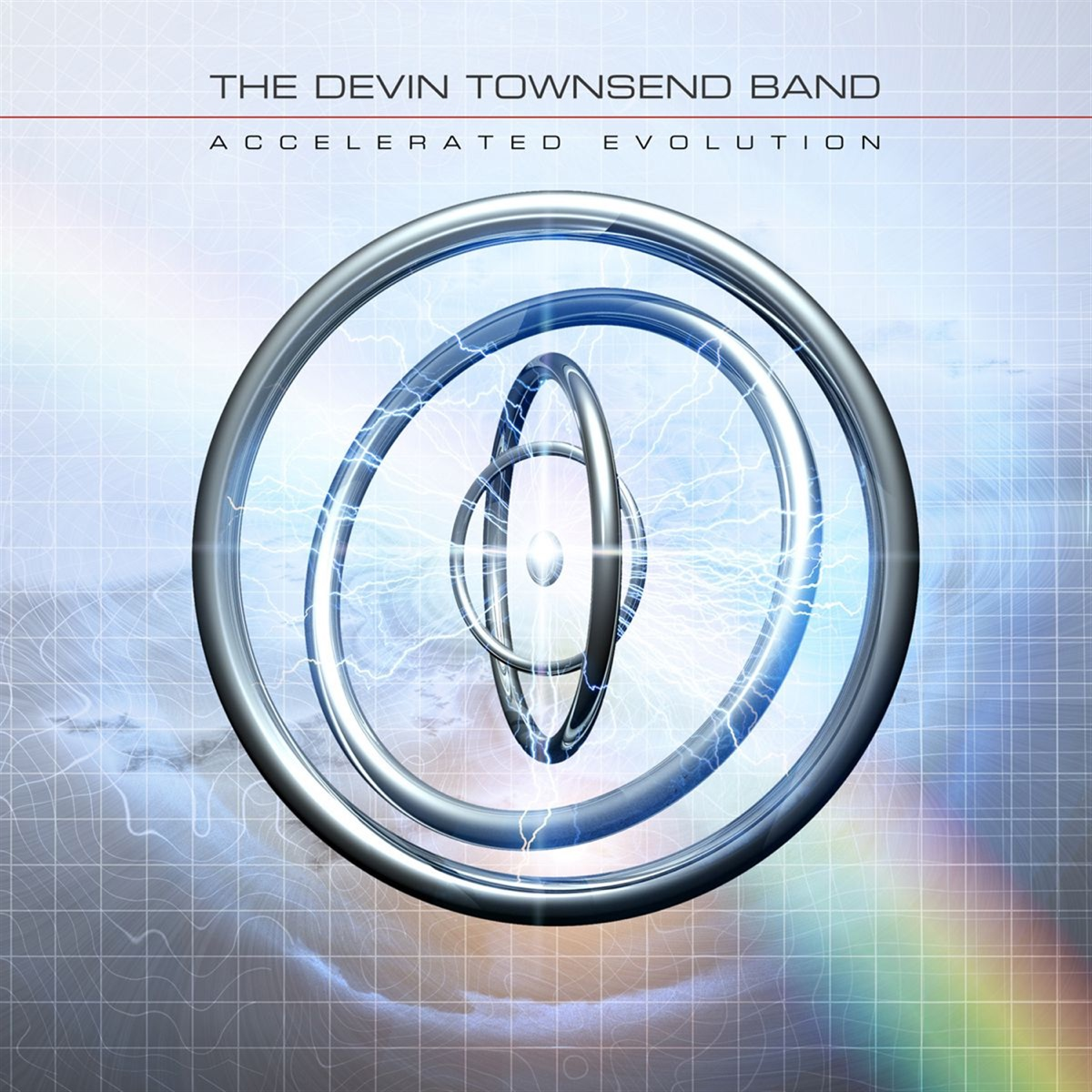 Accelerated Evolution The Devin Townsend Band CD cover