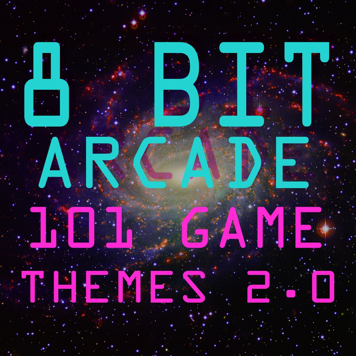 101 Game Themes Vol 20 8-Bit Arcade CD cover
