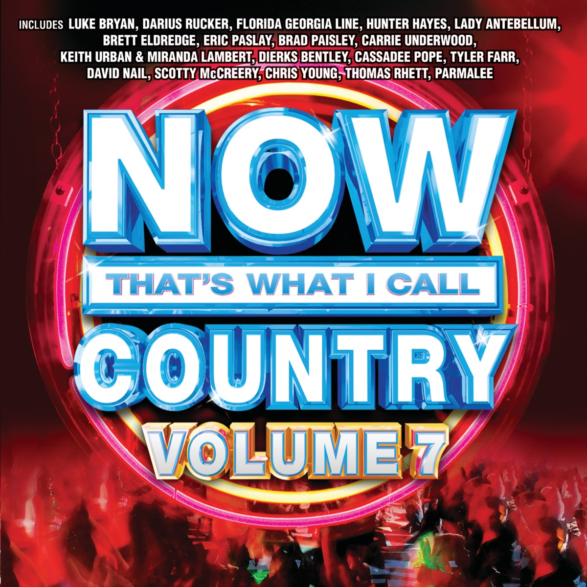 NOW Thats What I Call Country Vol 7 Various Artists CD cover