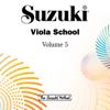 Suzuki Viola School, Vol. 5 - William Preucil