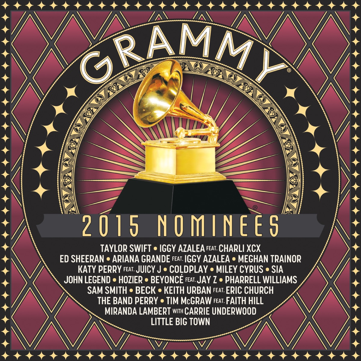 2015 GRAMMY Nominees Various Artists CD cover