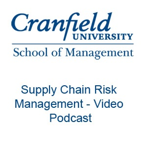 Cover image of Supply Chain Vodcast by Professor Richard Wilding