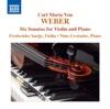 6 Violin Sonatas, Op. 10b - Frederieke Saeijs & Nino Gvetadze
