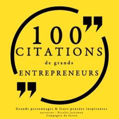 100 citations de grands entrepreneurs