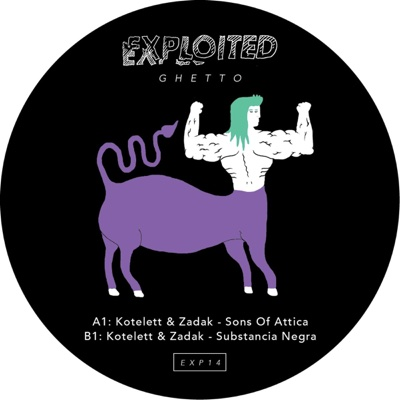 Sons of Attica - Single - Kotelett & Zadak album