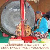 Gamelan Sekati Guntur Madu - Gendhing Rangkung - Musicians of Kraton Yogyakarta