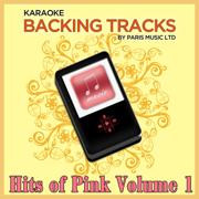 Karaoke Hits Pink, Vol. 1 - Paris Music - Paris Music