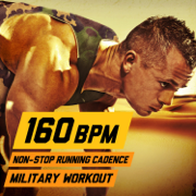 160 BPM Non-Stop Running Cadence Military Workout - U.S. Drill Sergeant Field Recordings - U.S. Drill Sergeant Field Recordings