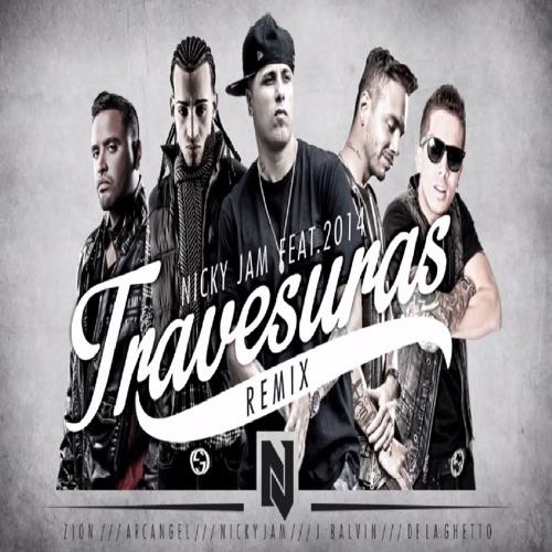 Nicky Jam - Travesuras (Remix) [feat. De La Ghetto, J Balvin, Zion & Arcángel] - Single