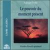 Eckhart Tolle - Le pouvoir du moment présent: Guide d'éveil spirituel artwork