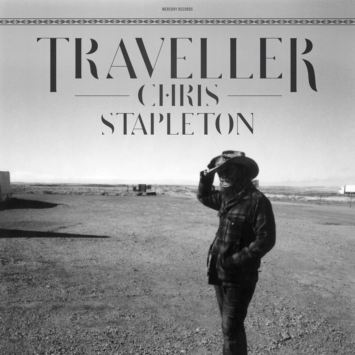 Traveller Chris Stapleton CD cover