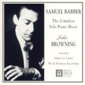 Samuel Barber: The Complete Piano Music