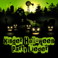 Various Artists - Kinder Halloween Party Lieder artwork