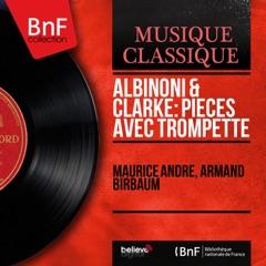 Albinoni & Clarke: Pièces avec trompette (Mono Version) - EP