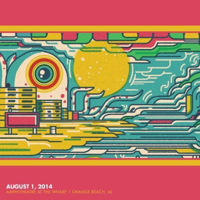 8/1/2014 The Amphitheater at the Wharf - Orange Beach, AL - Phish