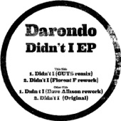Darondo - Didn't I (Dave Allison Rework) [feat. Dave Allison]