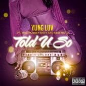 Told U So (feat. Mike Posner, Envy & Semi Moto) - Single