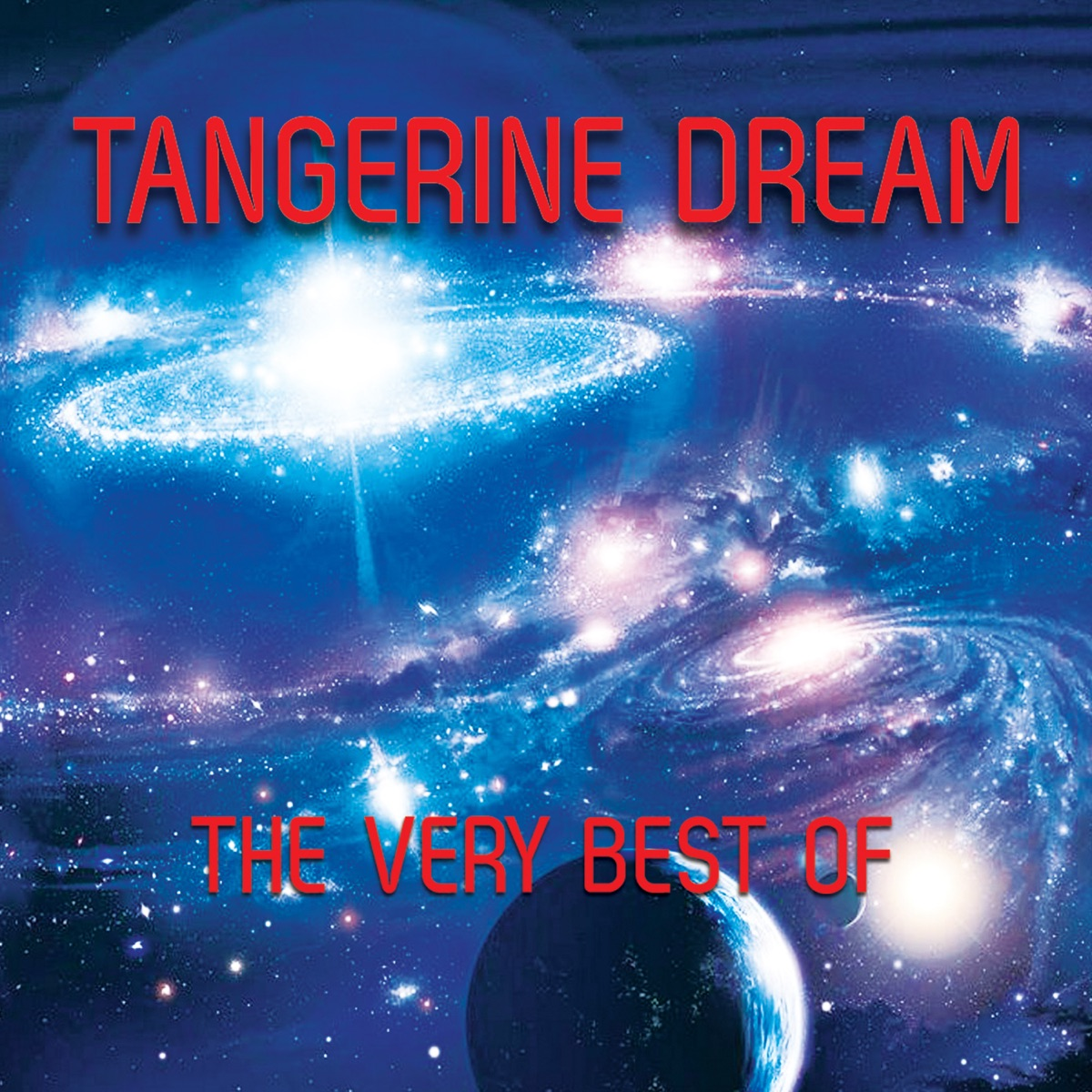 The Very Best of Tangerine Dream Album Cover by Tangerine Dream