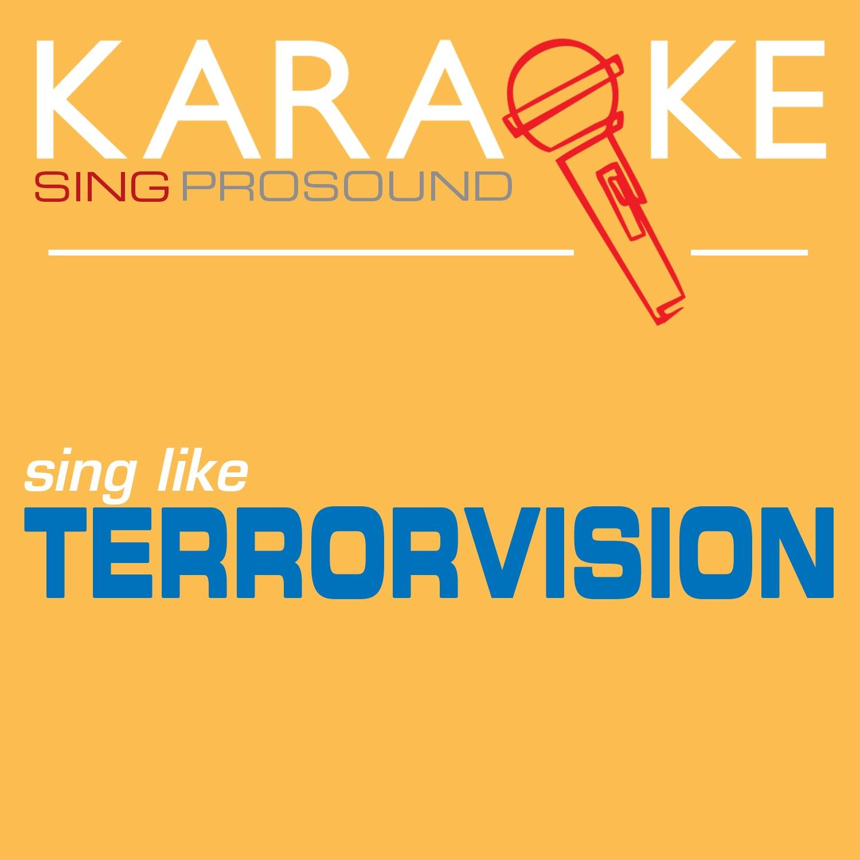 Karaoke in the Style of Terrorvision - Single