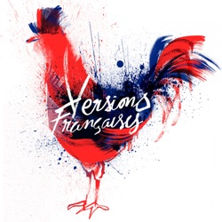 Versions françaises (French Indie Pop) - Various Artists Album Cover