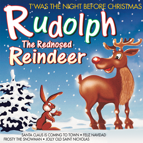 Something is. rudolph the red nosed reindeer and santa very