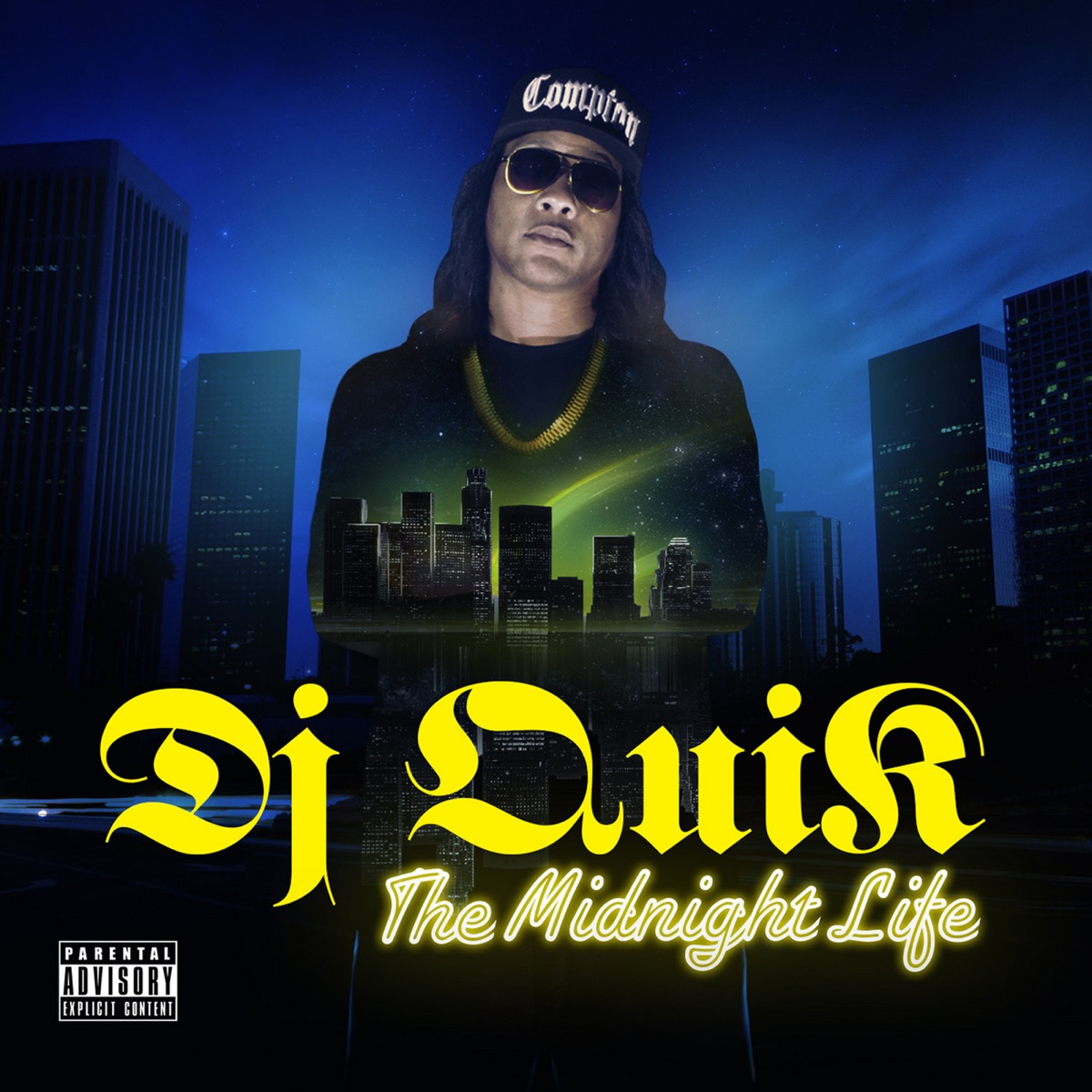 The Midnight Life DJ Quik CD cover