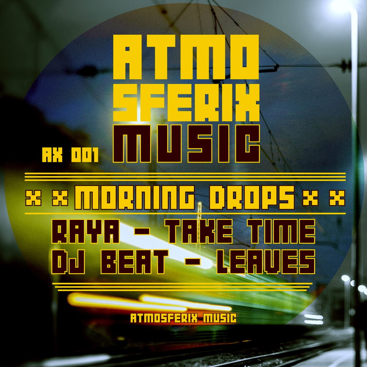 Morning Drops - Single Raya  DJ Beat CD cover