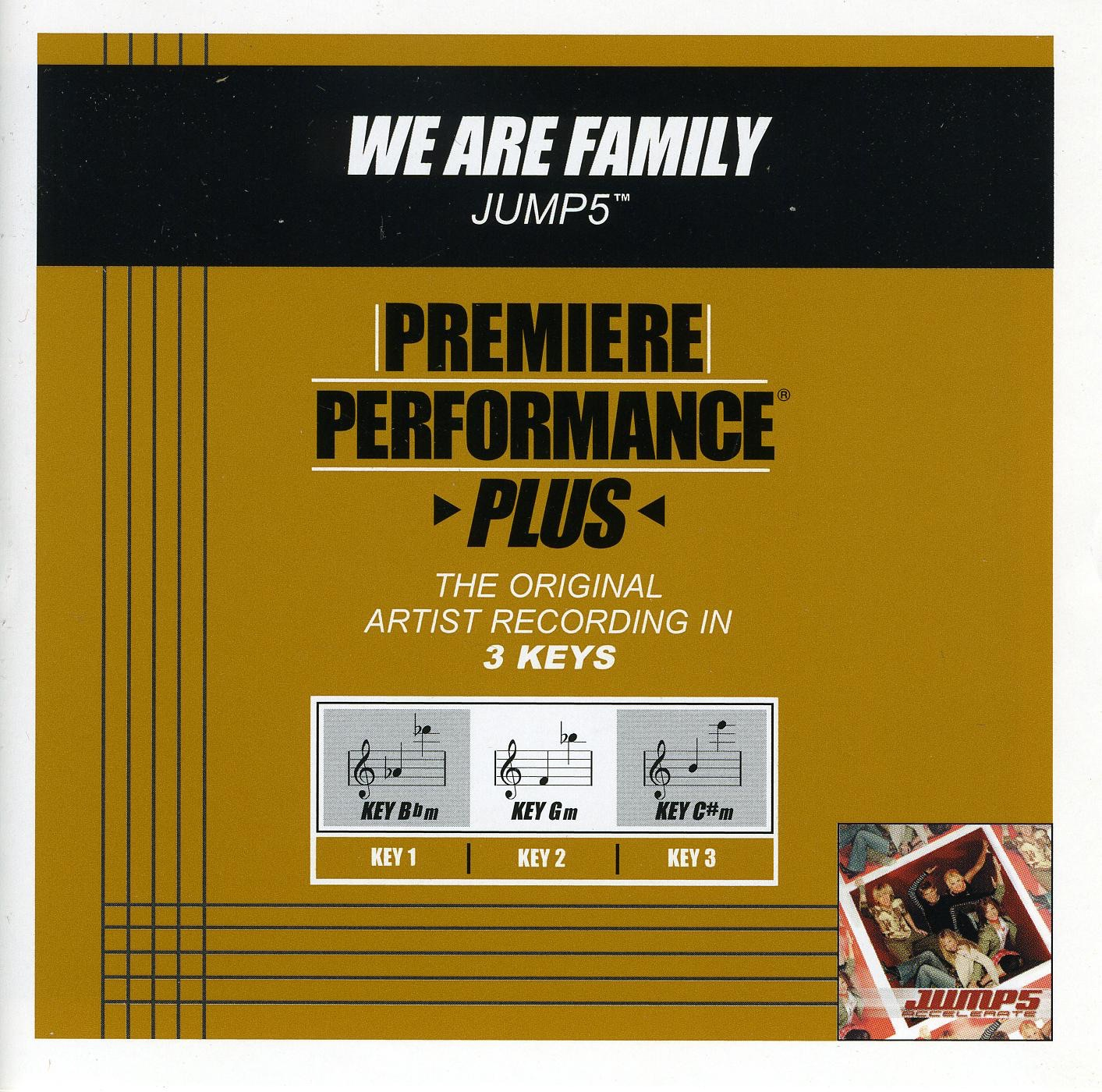 Premiere Performance Plus: We Are Family - EP