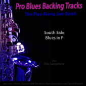 [Download] Pro Blues Backing Tracks (South Side Blues in F) [12 Blues Choruses With Tips for Alto Saxophone Players] MP3
