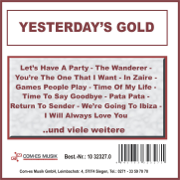 Yesterday's Gold - Various Artists - Various Artists