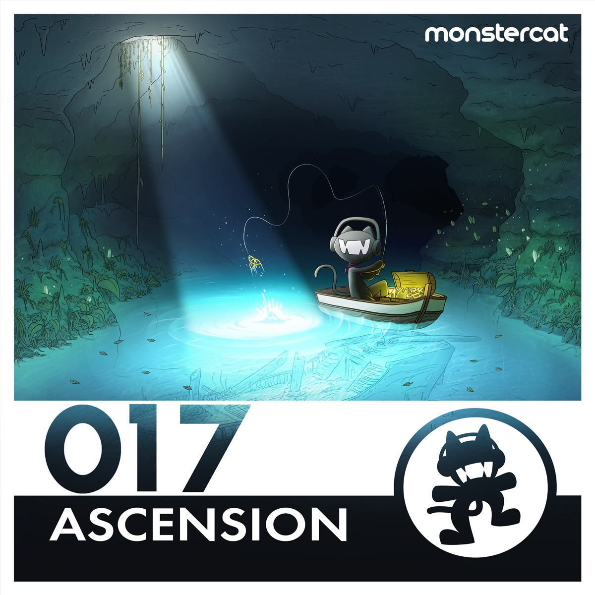 Monstercat 017 - Ascension Album Cover by Various Artists