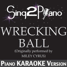 miley cyrus wrecking ball instrumental mp3 download