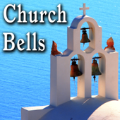 Large Church Bells Tolling with Light City Ambience in Background - Sound Ideas