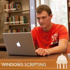 Windows Scripting - Scripting Toolkits