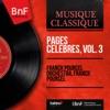 Pages célèbres, vol. 3 (Mono Version), Franck Pourcel and His Orchestra & Franck Pourcel
