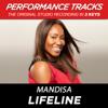 Mandisa - Lifeline (Performance Tracks) - EP artwork