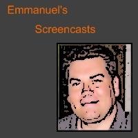 Emmanuel's Screencasts (Small M4V, iPod)