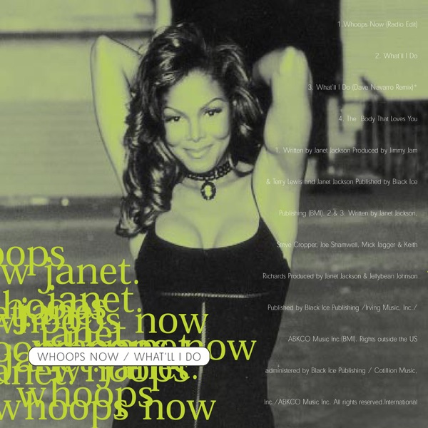 Janet Jackson mit Whoops Now