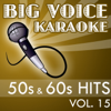 Karaoke 50s & 60s Hits - Backing Tracks for Singers, Vol. 15 - Big Voice Karaoke