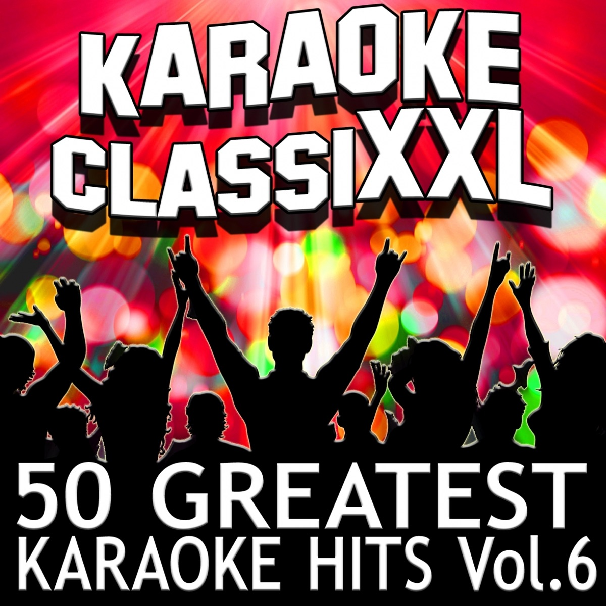 50 Greatest Karaoke Hits Vol 6 Karaoke Version Dohn Joe CD cover